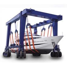 Marine Electric Hydraulic Boat Hoist Lifting Crane