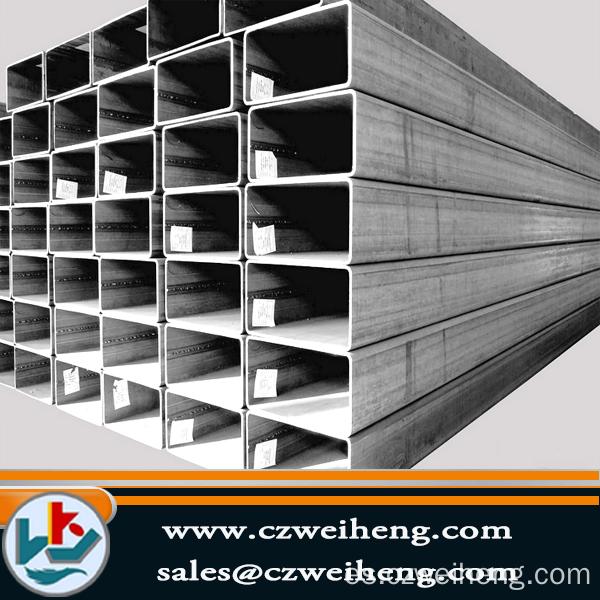 China q195 q345 galvaniz fabricantes de tubo de acero - Tubo cuadrado acero ...