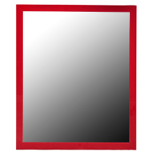 "PVC Over Door Mirror 12""X48"" Various Colors"