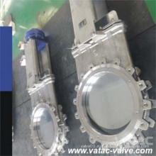 Литой стали Wcb / Lcb / Wc6 / Wc9 Задвижка с запирающим затвором с хомутом (Z73H)