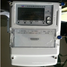 Three Phase Whole Current Electronic Energy Meter with Fraud Protection