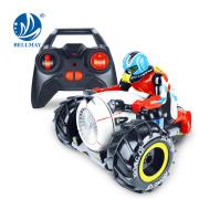 Atacado engraçado 2.4G brinquedo de plástico anfíbio de carro de acrobacia