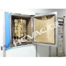 Regarder la machine de revêtement d'or de PVD / machine de revêtement de noir de jet de PVD / technologie de pulvérisation de PVD Mf