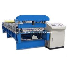 Máquina profissional de fabricação de folhas de telhado ondulado de metal