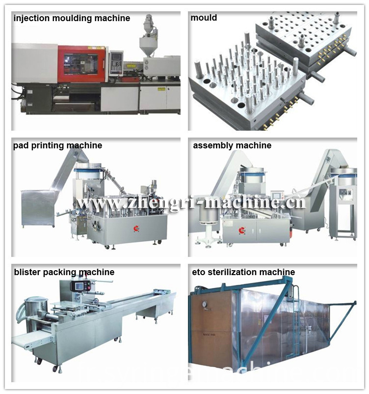 syringe manufacturing machines