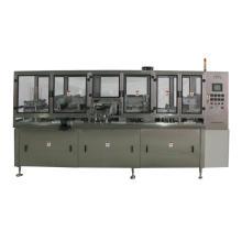 Supply automatic aluminum lip easy open end, The Automatic Pop Can Aluminum Foil Lid Seal Machine, eoe machine,