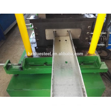 De Buena Calidad Precio Cambiar el tamaño Techo Marco CZ Canal Sección En Forma De Purling Mill Cold Roll Forming Machine En Venta