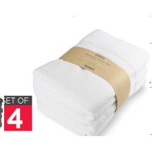 70% bambú 30% algodón 4 sistemas de juego de toallas