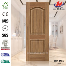 Australia Interior HDF Teak Veneer Mouled Door Skin