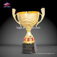 Novo troféu esportivo projetado, troféu de liga de zinco
