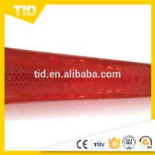 revestimiento reflectante prismático de alta intensidad rojo