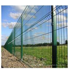 Hochwertiger preiswerter Draht-Ineinander greifen-Zaun vom China-Lieferanten