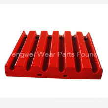 Wear Risistant Jaw Plate Accessories for Metso Jaw Crusher