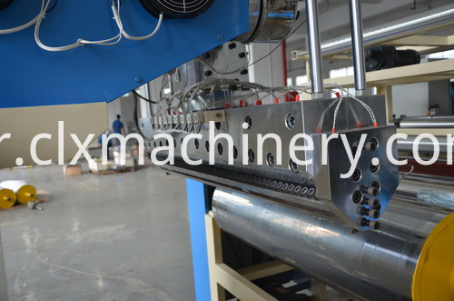 LLDPE automatic preservative film machine