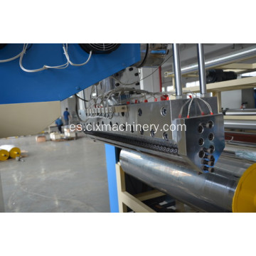De 1000 mm tres capas Lldpe Stretch Film maquinaria