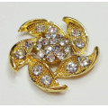 Various Flowers Shapes Rhinestone Shoe Clips