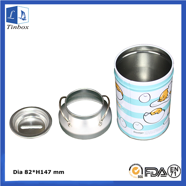 Food Grade Packaging Chocolate Tin Containers
