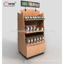 Great Wooden Bakery Bread Candy Store Display Racks para transformar suas idéias em exibição Realidade