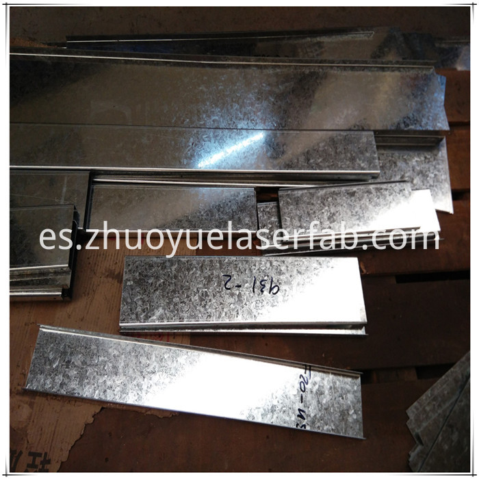 custom metal fabrication galvanized steel sheet