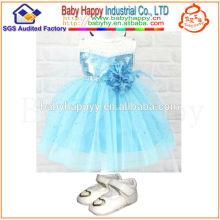 Детская мода новое модное лето маленькая девочка baby онлайн-платье