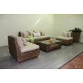 Modish Elegant Interior Design Water Hyacinth Sofa Set For Indoor Natural Furniture