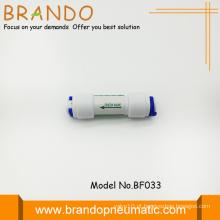Válvula de retenção de Delrin Pom para purificador Ro