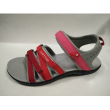 Easy Wear Open Toe flache Sandalen für Frauen Sommer