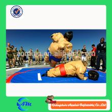 Traje de sumo inflable comercial, traje de sumo del juego del cuerpo, traje del luchador del sumo