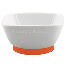 square dipping bowl with silicone
