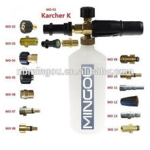 High Pressure Portable Car Wash Foam lance 1 Liter Foam cannon Bottle/1L snow foam lance