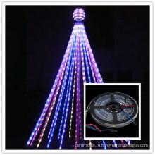 Управление DMX Рождество ленты пиксель светодиодные ленты 12V