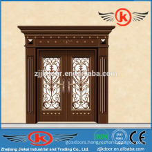 JK-C9041 fascinating china painting carving copper art door mian door