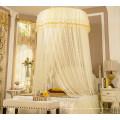 Tente de canopée circulaire nouvelle moustiquaire style avec dentelle romantique