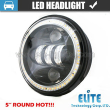 Newest led headlight type 5inch led fog lamp headlight on hot sell