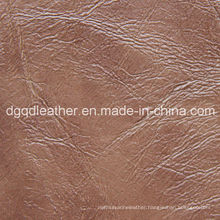 Top Selling Semi-PU Furniture Leather (QDL-51106)