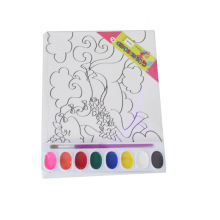 children magnetic canvas painting board