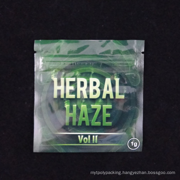 Foil Bag for Herbal with Zip Lock