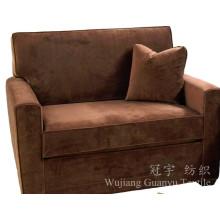 Замша кожа 100% полиэстер ткань для мебели