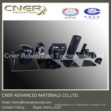 Piezas de fibra de carbono en forma de 3D, productos de fibra de carbono brillante / mate 3K