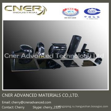 Части 3D из углеродного волокна, 3K глянцевые / матовые продукты из углеродного волокна