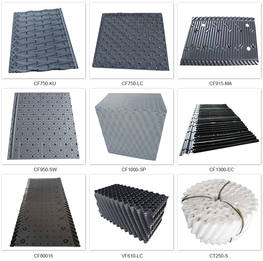 Cooling tower fill type