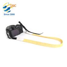 Großhandelsart und weise Wavelet-Punkt-gelbe und weiße Berufs-Baumwollkamera-Bügel
