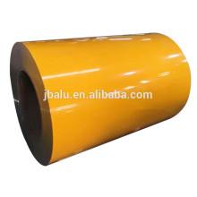 Chine moins cher bobine / feuille en aluminium coloré de couleur pour des façades