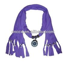 PK17ST298 pingente de lenço de malha decorativa de jóias