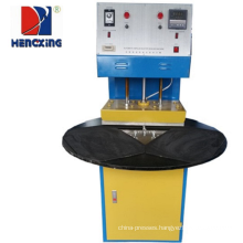 Plastic blister package heat sealing machine