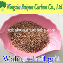 2-4mm water treatment filter media walnut shell grit for oil drilling