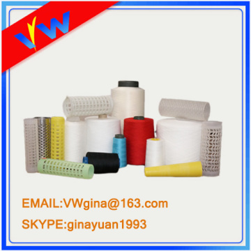 optical white polyester sewing thread