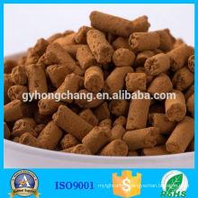 Iron Oxide desulfurization of gas biogs and oil desulfuriozation
