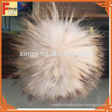 Real Raccoon Fur Pom Poms ball