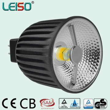 Reflector 3D COB 6W 400lm MR16 LED con aprobación TUV